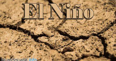 Weak El Niño in Region 7 a State of Calamity