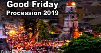 Good Friday 2019 Procession in Dumaguete