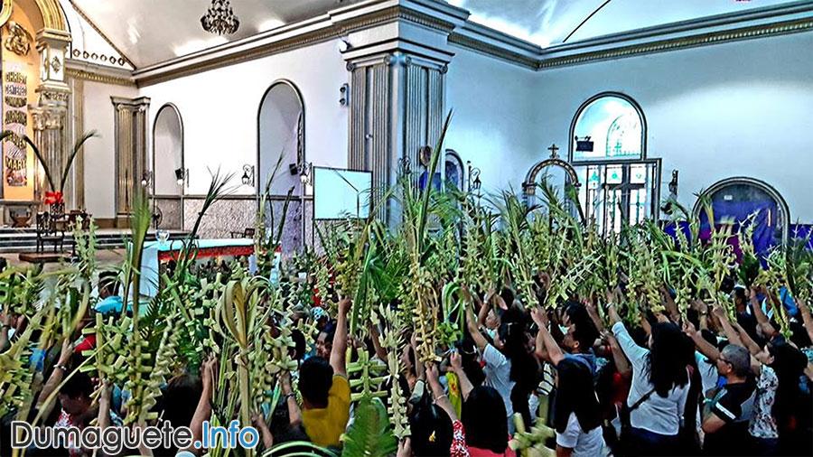 Holy Week 2019 - Dumaguete City - Palm Sunday
