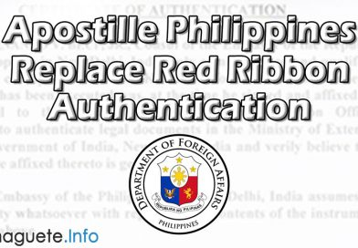 Apostille Replace Red Ribbon Authentication