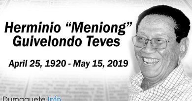 "Former Congressman Herminio ""Meniong"" Guivelondo Teves Died at 99"