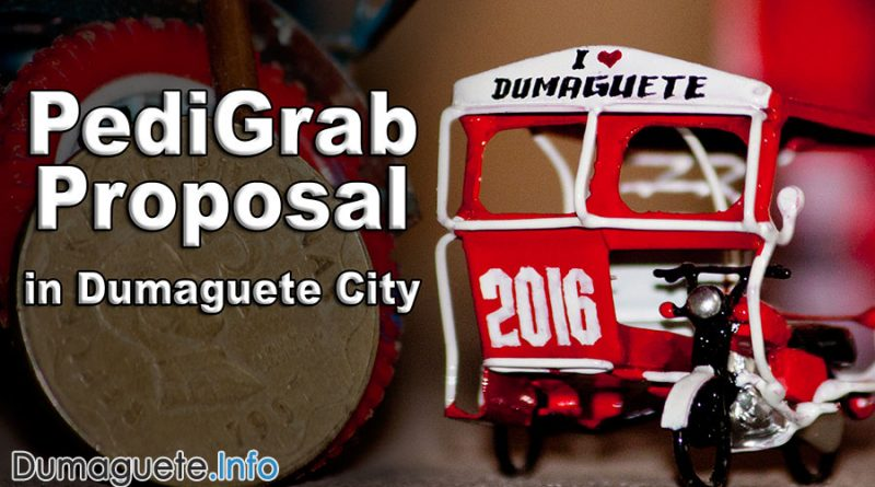 PediGrab Proposal for Dumaguete City