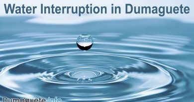 Water Interruption in Dumaguete City
