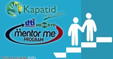 DTI Kapatid Mentor Me Program in Negros Oriental