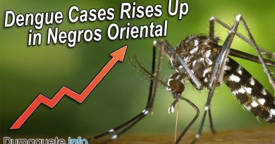 Dengue Cases Rises Up in Negros Oriental