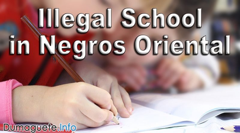 Illegal School in Negros Oriental