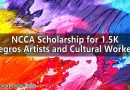 NCCA Scholarship for 1.5K Negros Artists and Cultural Workers