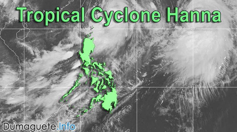 Tropical Cyclone Hanna Turns to Typhoon