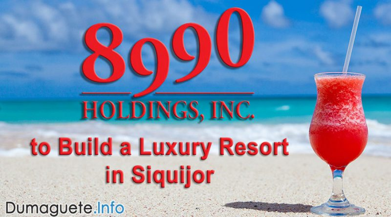 8990 Holdings to Build a Luxury Resort in Siquijor