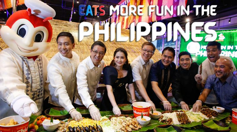 "Jollibee Partner for ""Eats More Fun"" Food Tourism"
