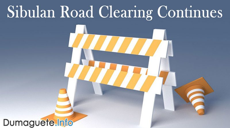 Sibulan Road Clearing Continues
