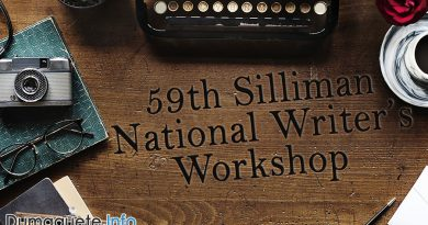 59th Silliman National Writer's Workshop – Open for Applications
