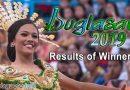 Buglasan Festival 2019 - RESULTS