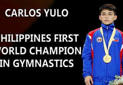 Carlos Yulo – Philippines First World Champion in Gymnastics