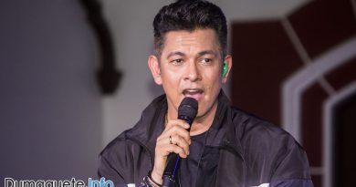 Gary Valenciano – Mr. Pure Energy in Dumaguete City