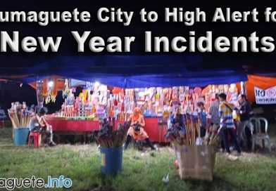 Dumaguete City to High Alert for New Year Incidents