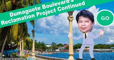Dumaguete Boulevard's Reclamation Project Continued