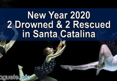 New Year 2020 - 2 Drowned & 2 Rescued in Santa Catalina