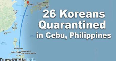 26 Koreans Quarantined in Cebu, Philippines