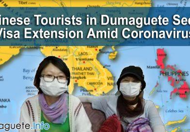 Chinese Tourists in Dumaguete Seeks Visa Extension Amid Coronavirus