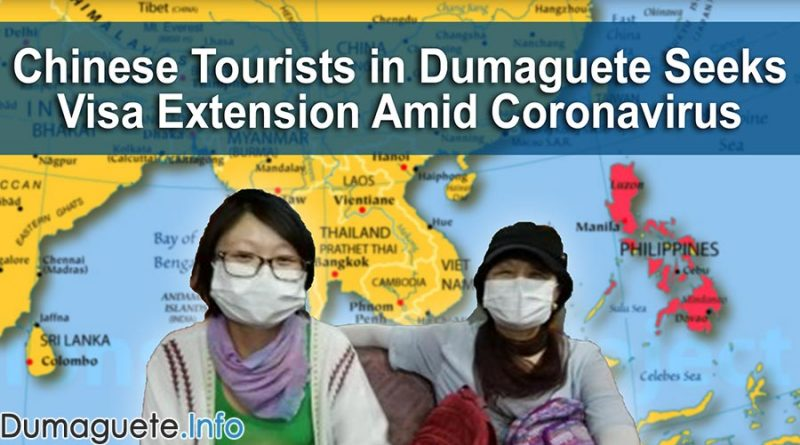 Chinese Tourists in Dumaguete Seeks Visa Extension Amid Coronavirus