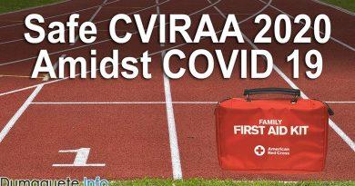 Dumaguete Task Force Aims for a Safe CVIRAA 2020 Amidst COVID 19