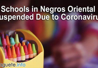Schools in Negros Oriental Suspended Due to Coronavirus