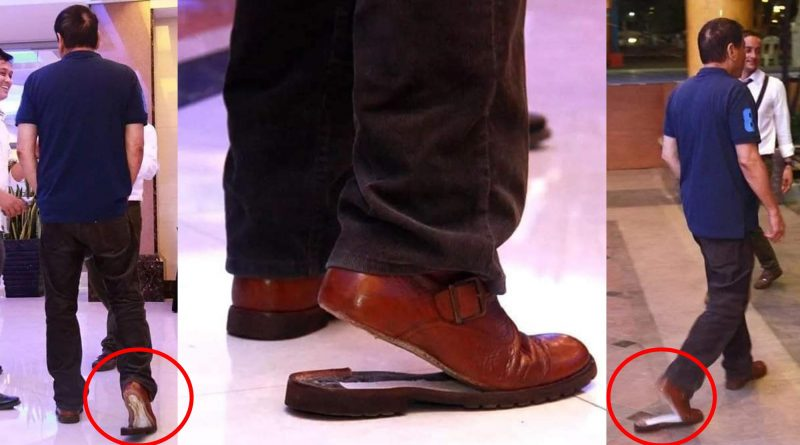 President Duterte Attends an Event with Broken Shoe – Goes Viral