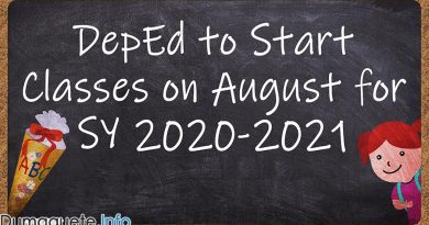 DepEd to Start Classes on August for SY 2020-2021