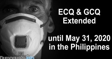 ECQ & GCQ Extended until May 31, 2020 in the Philippines