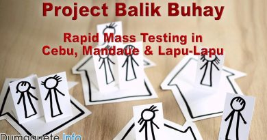 Project Balik Buhay - Rapid Mass Testing in Cebu, Mandaue and Lapu-Lapu