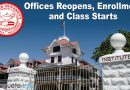 Silliman University Reopens Offices, Enrollment and Classes Starts