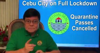 Cebu City on Full Lockdown – All Quarantine Passes Cancelled
