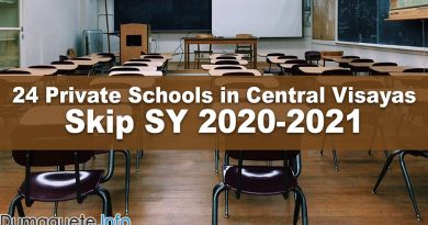 24 Private Schools in Central Visayas Skip SY 2020-2021