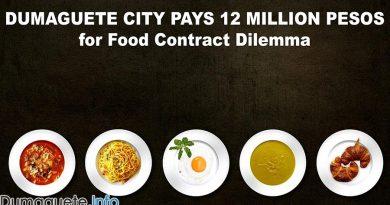 Dumaguete City Pays 12 Million Pesos for Food Contract Dilemma