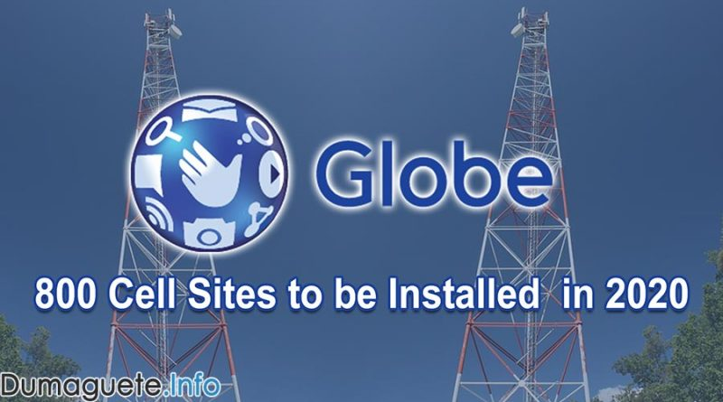 800 Cell Sites to be Installed by Globe Telecom this 2020