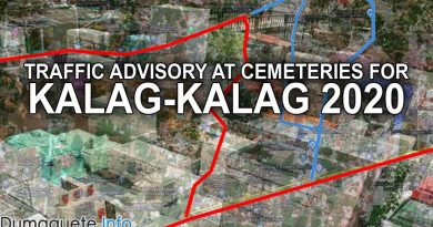 Traffic Advisory at Cemeteries for Kalag-Kalag 2020