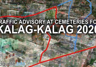 Traffic Advisory at Cemeteries for Kalag-Kalag 2020