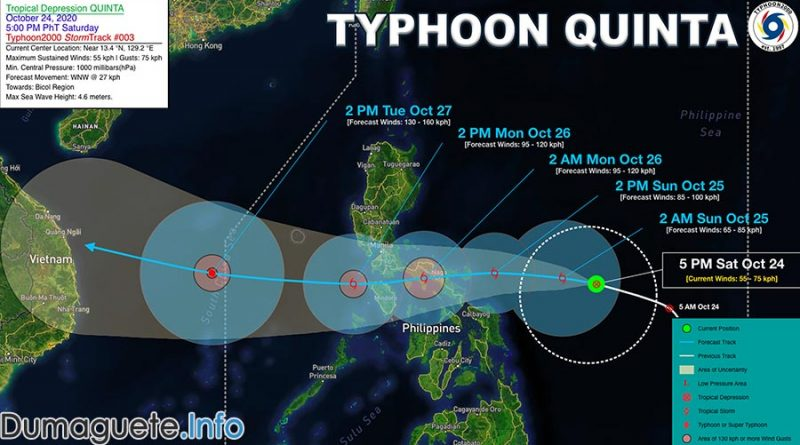 Typhoon Quinta Affects Hundred in Negros Oriental