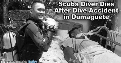 Scuba Diver Dies After Dive Accident in Dumaguete