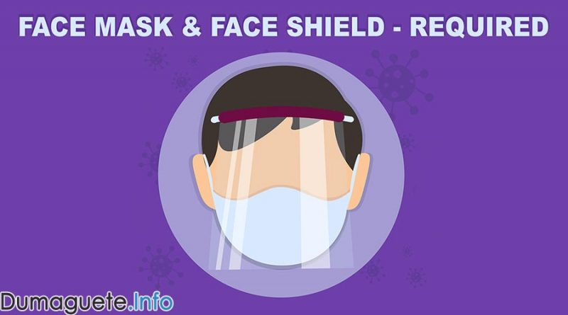 IATF Resolution No. 88 Requires BOTH Face Mask & Face Shield in Public