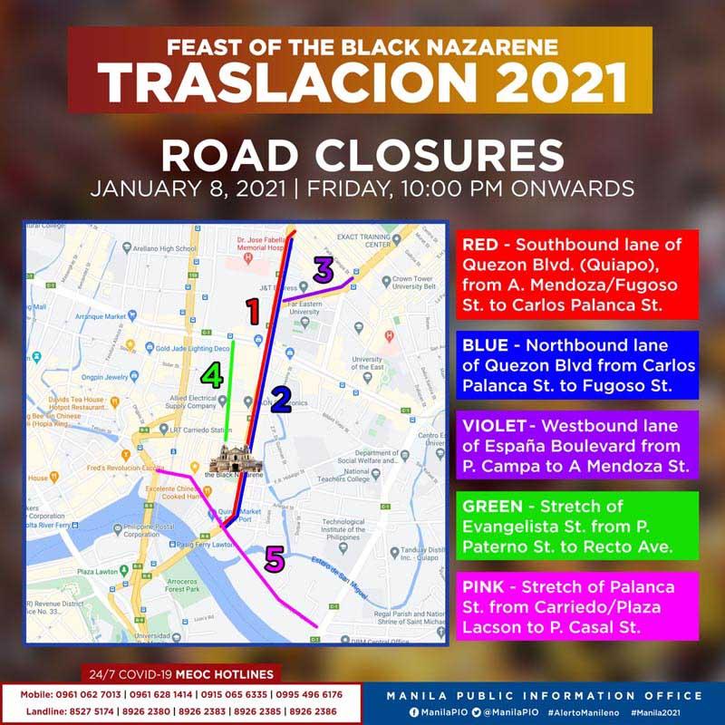Traslacion 2021 – Feast of the Black Nazarene