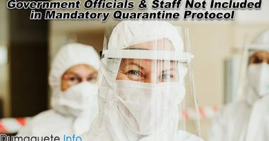 Government Officials and Staff Not Included in Mandatory Quarantine Protocol