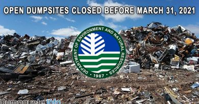DENR in Central Visayas Reminds 23 LGUs to Close Open Dumpsite
