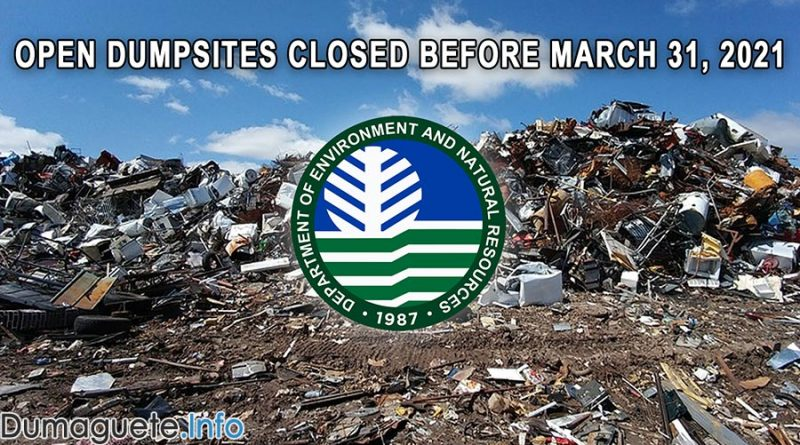 DENR in Central Visayas Reminds 23 LGUs to Close Open Dumpsite