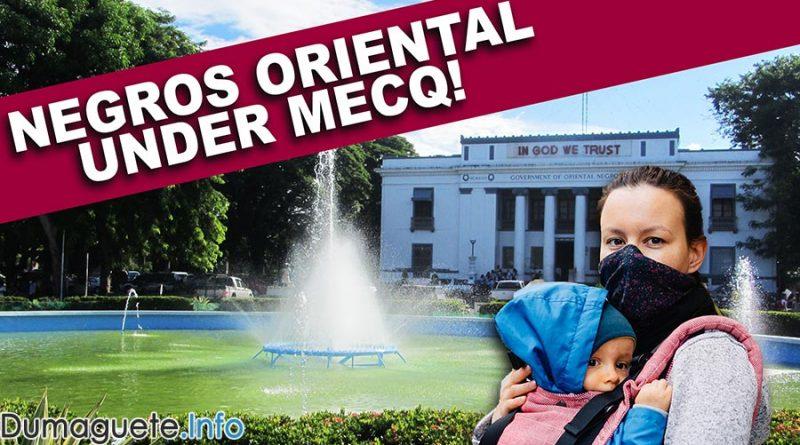 Negros Oriental Now Under MECQ