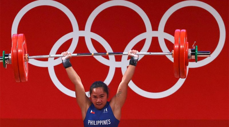 Philippine Wins First Olympics Gold Medal in Weightlifting
