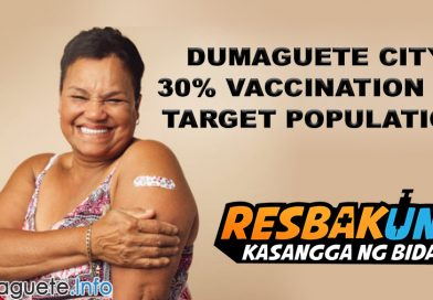 Dumaguete Reaches 30% Vaccination on Target Population