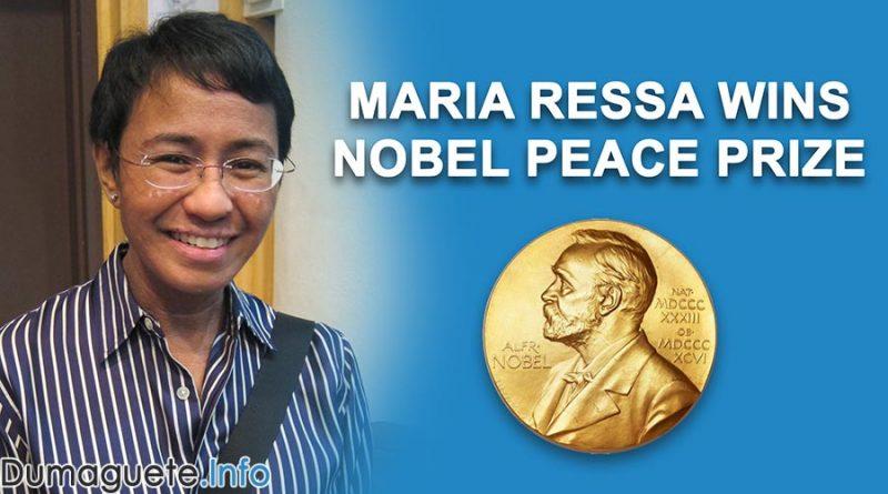 Filipino Journalist Maria Ressa Wins Noble Peace Prize 2021
